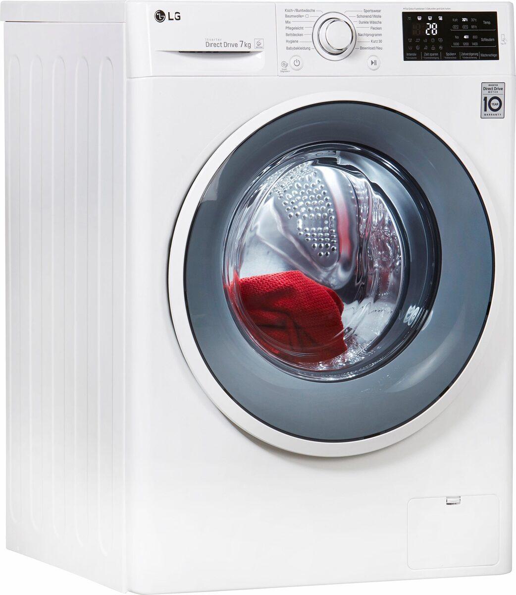 Bild 1 von LG Waschmaschine F14WM7EN0, 7 kg, 1400 U/Min