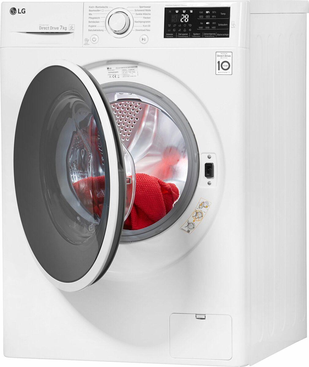 Bild 2 von LG Waschmaschine F14WM7EN0, 7 kg, 1400 U/Min