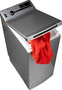 BAUKNECHT Waschmaschine Toplader WMT Silver 7 BD, 7 kg, 1200 U/Min