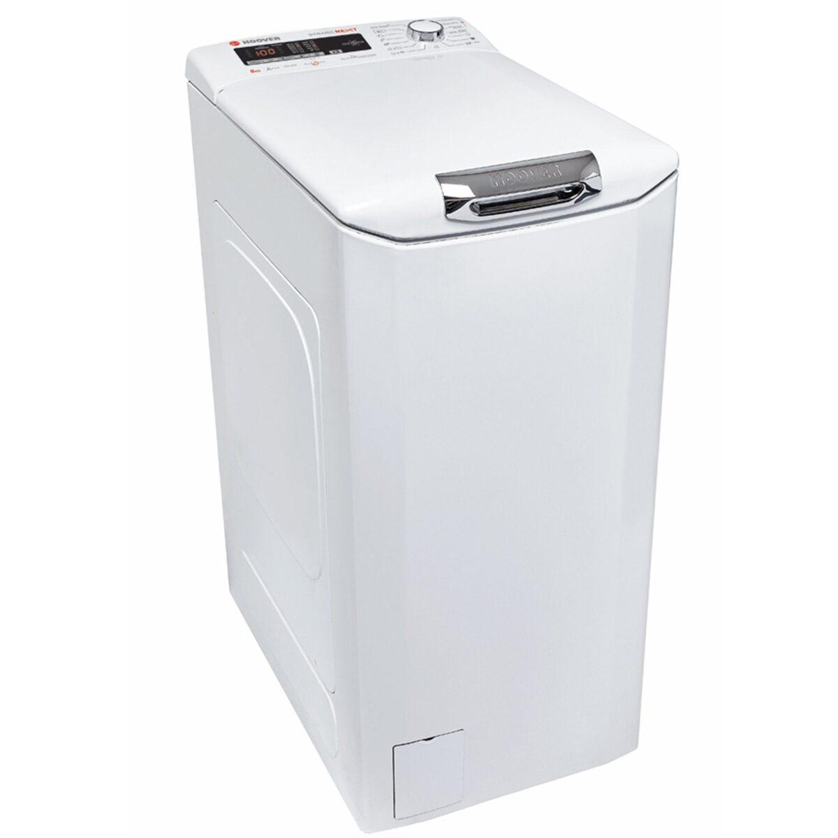 Bild 1 von Hoover Waschmaschine Toplader HNOT S382DA-S, 8 kg, 1200 U/Min, A+++ SlowMotion-Öffnungsmechanismus 8kg