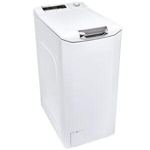 Hoover Waschmaschine Toplader HNOT S372DA-S, 7 kg, 1200 U/Min, A+++ 7kg SlowMotion-Öffnungsmechanismus Aquastopp