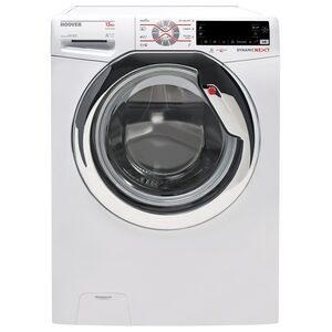 Hoover Waschmaschine DWOT 413AHC3/1-S, 13 kg, 1400 U/Min, Inverter-Motor, WIFI+NFC-Technologie, Perfect Rapid 59 Min, Schnell 14/30/44 Min