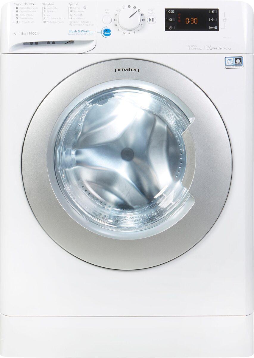 Bild 3 von Privileg Waschmaschine PWF X 843 S, 8 kg, 1400 U/Min