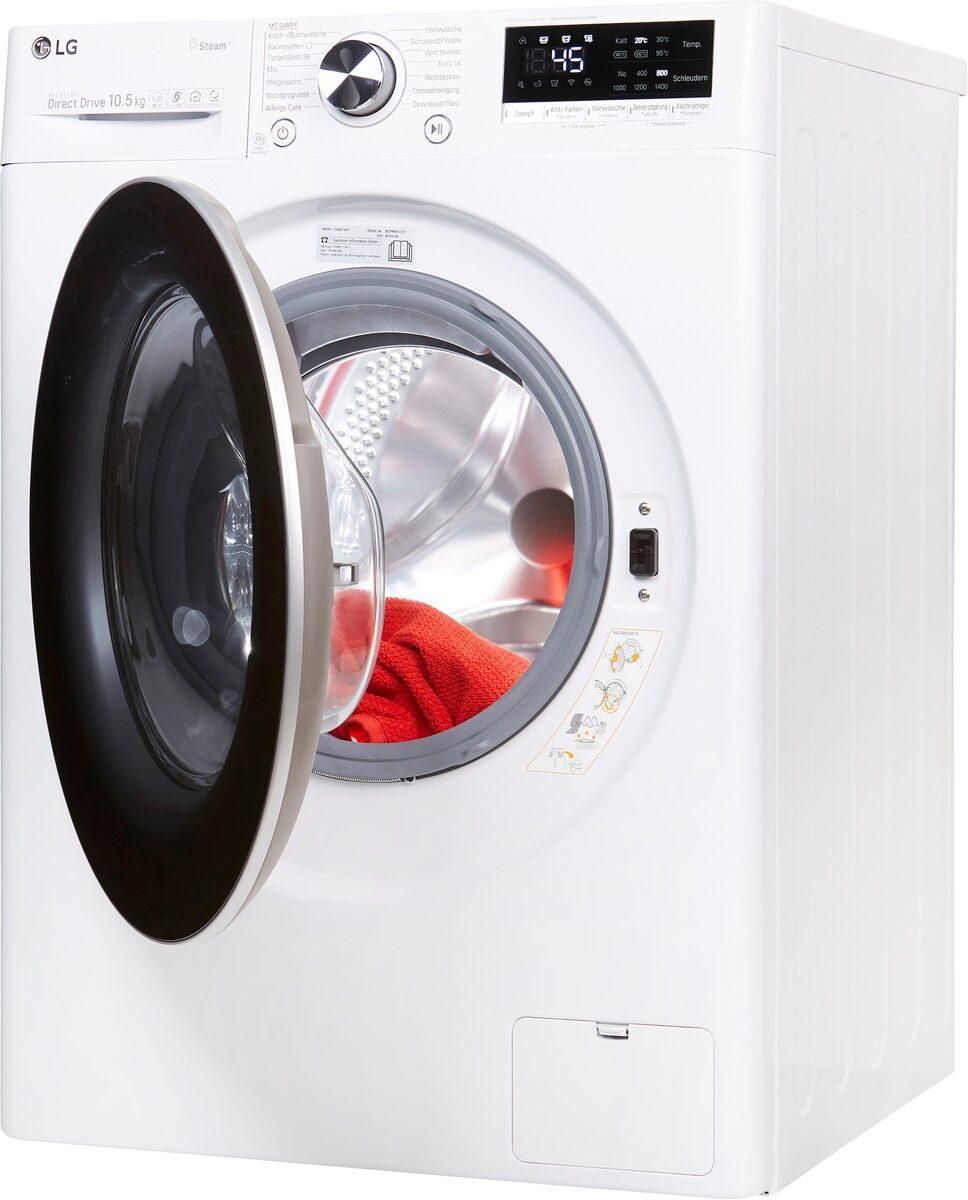 Bild 2 von LG Waschmaschine Serie 7 F4WV710P1, 10,5 kg, 1400 U/Min