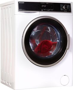Sharp Waschmaschine ES-HFH814AW3-DE, 8 kg, 1400 U/Min