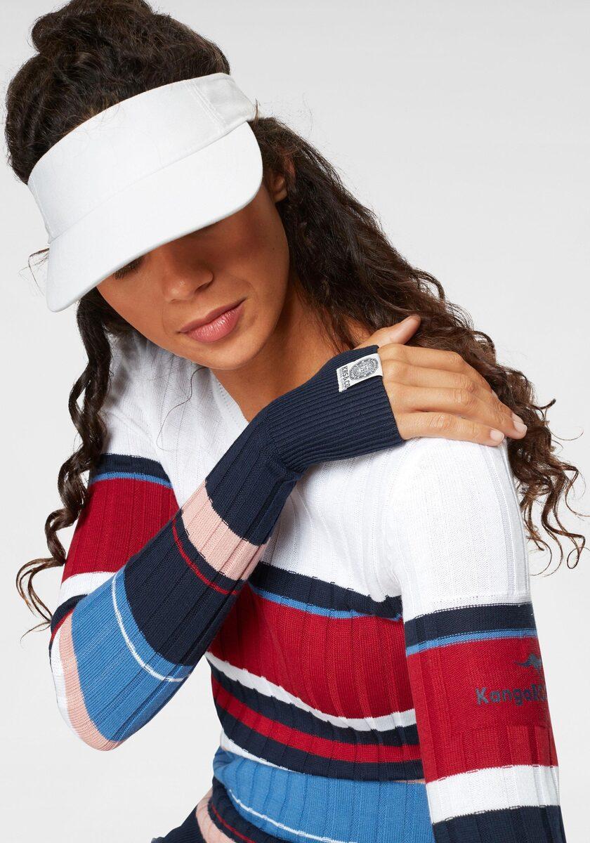 Bild 2 von KangaROOS Rundhalspullover im sportivem Streifen-Design