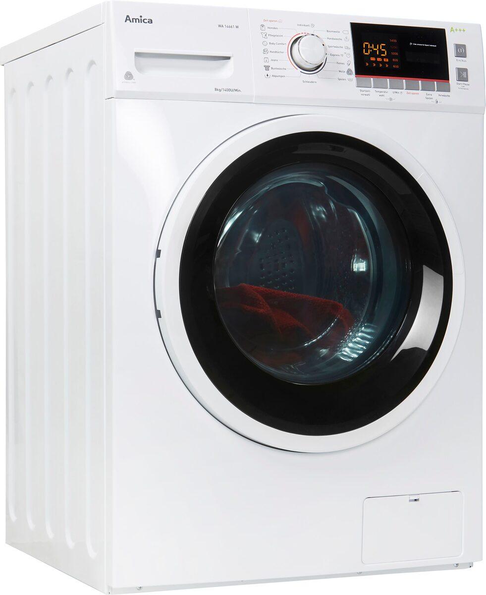Bild 1 von Amica Waschmaschine Classic Line WA 14661 W, 8 kg, 1400 U/Min