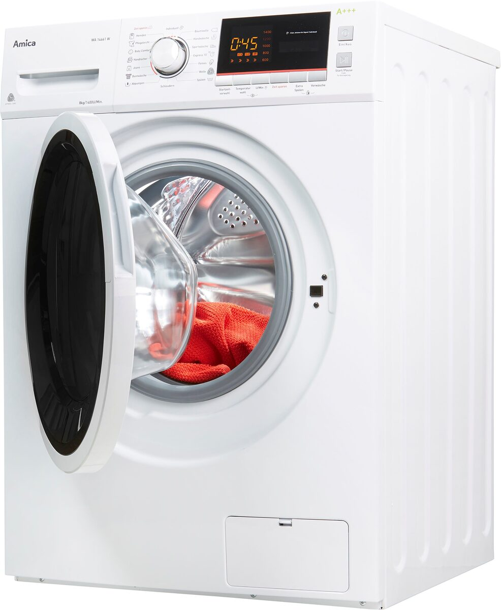 Bild 2 von Amica Waschmaschine Classic Line WA 14661 W, 8 kg, 1400 U/Min