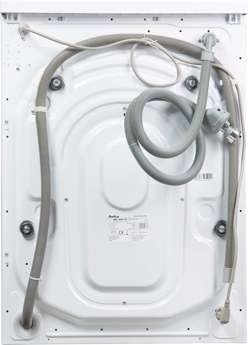 Bild 5 von Amica Waschmaschine Classic Line WA 14661 W, 8 kg, 1400 U/Min