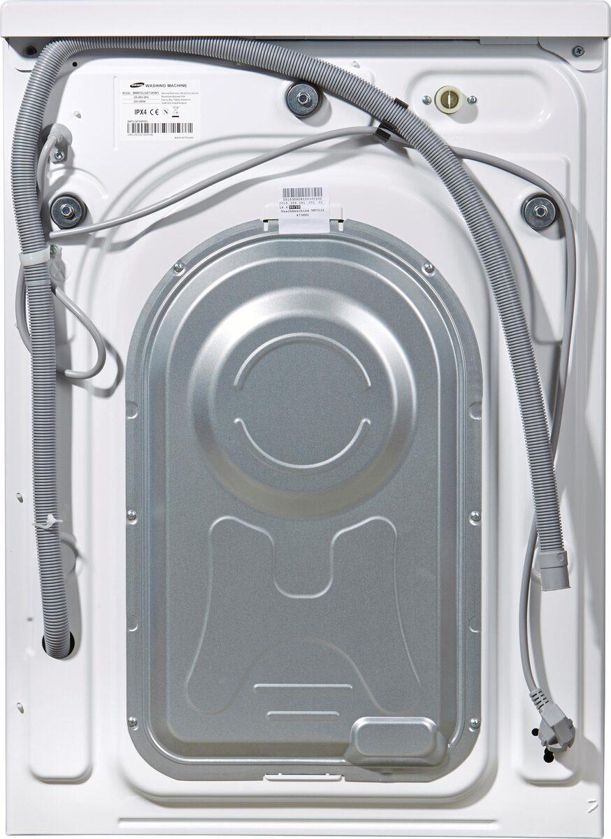 Bild 4 von Samsung Waschmaschine WW3000 WW80J3470KW, 8 kg, 1400 U/Min, Pflegetrommel