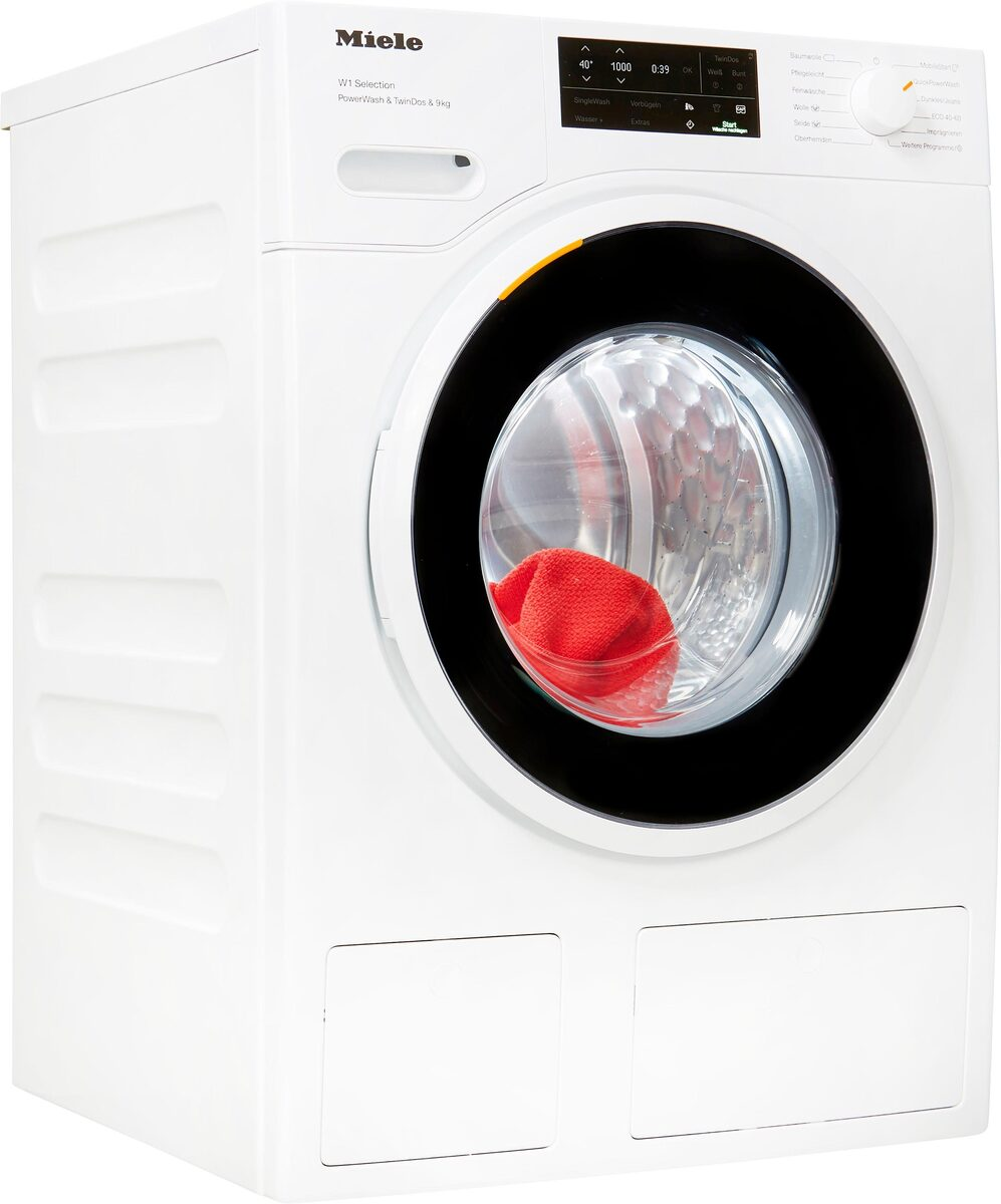 Bild 1 von Miele Waschmaschine WSI863 WCS PWash&TDos&9kg, 9 kg, 1600 U/Min