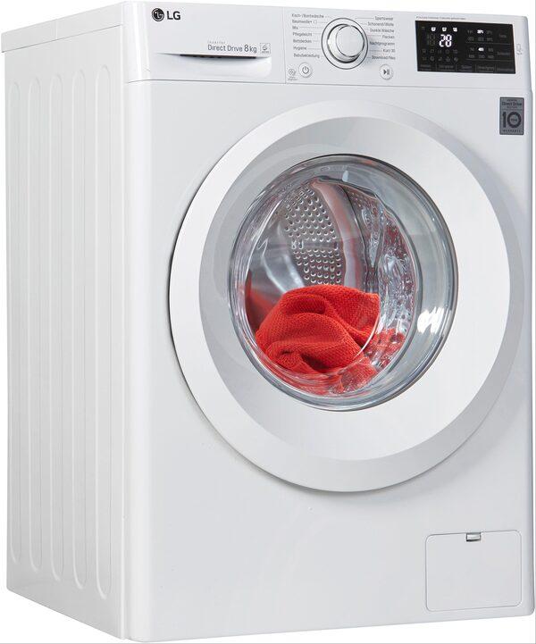LG Waschmaschine F14WM8LN0, 8 kg, 1400 U/Min