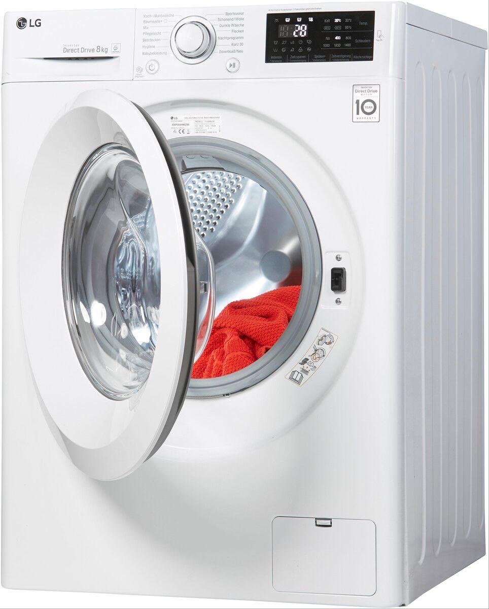 Bild 2 von LG Waschmaschine F14WM8LN0, 8 kg, 1400 U/Min