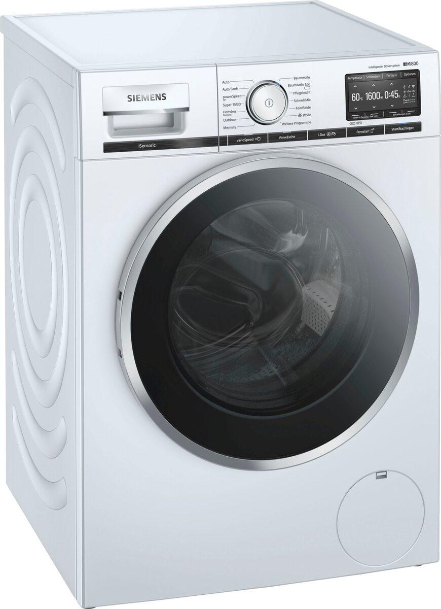 Bild 1 von SIEMENS Waschmaschine iQ800 WM16XE40, 9 kg, 1600 U/Min