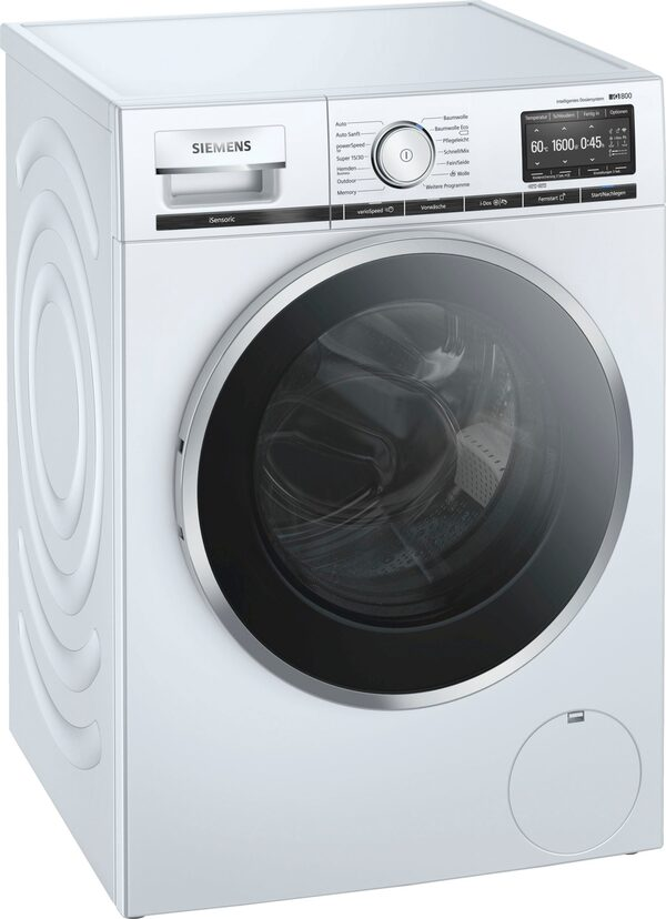 SIEMENS Waschmaschine iQ800 WM16XE40, 9 kg, 1600 U/Min