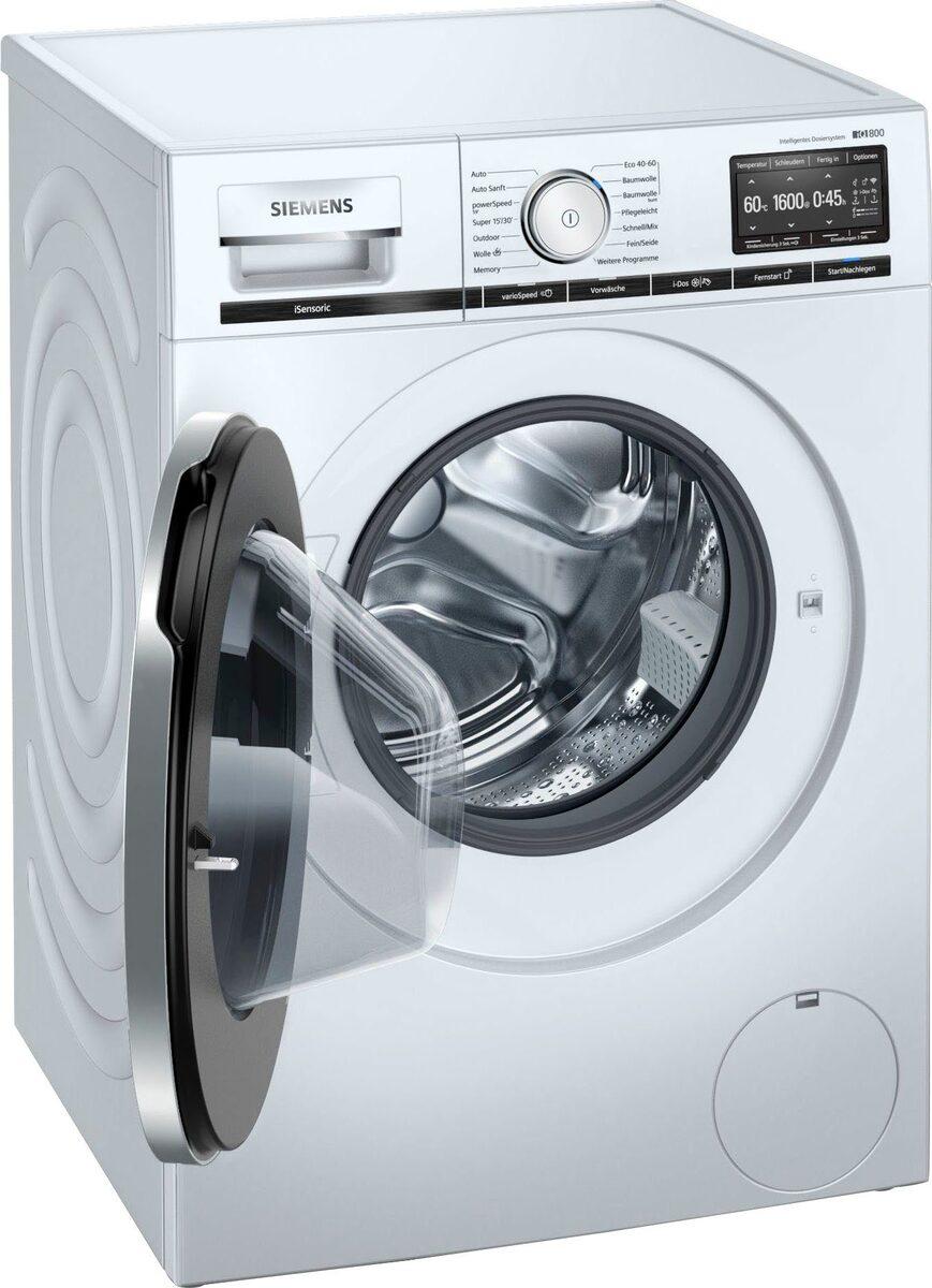 Bild 2 von SIEMENS Waschmaschine iQ800 WM16XE40, 9 kg, 1600 U/Min