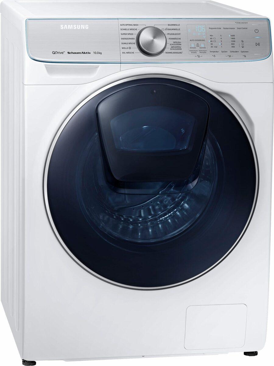 Bild 1 von Samsung Waschmaschine QuickDrive AddWash WW8800 WW10M86BQOA, 10 kg, 1600 U/Min, QuickDrive & Automatische Waschmitteldosierung