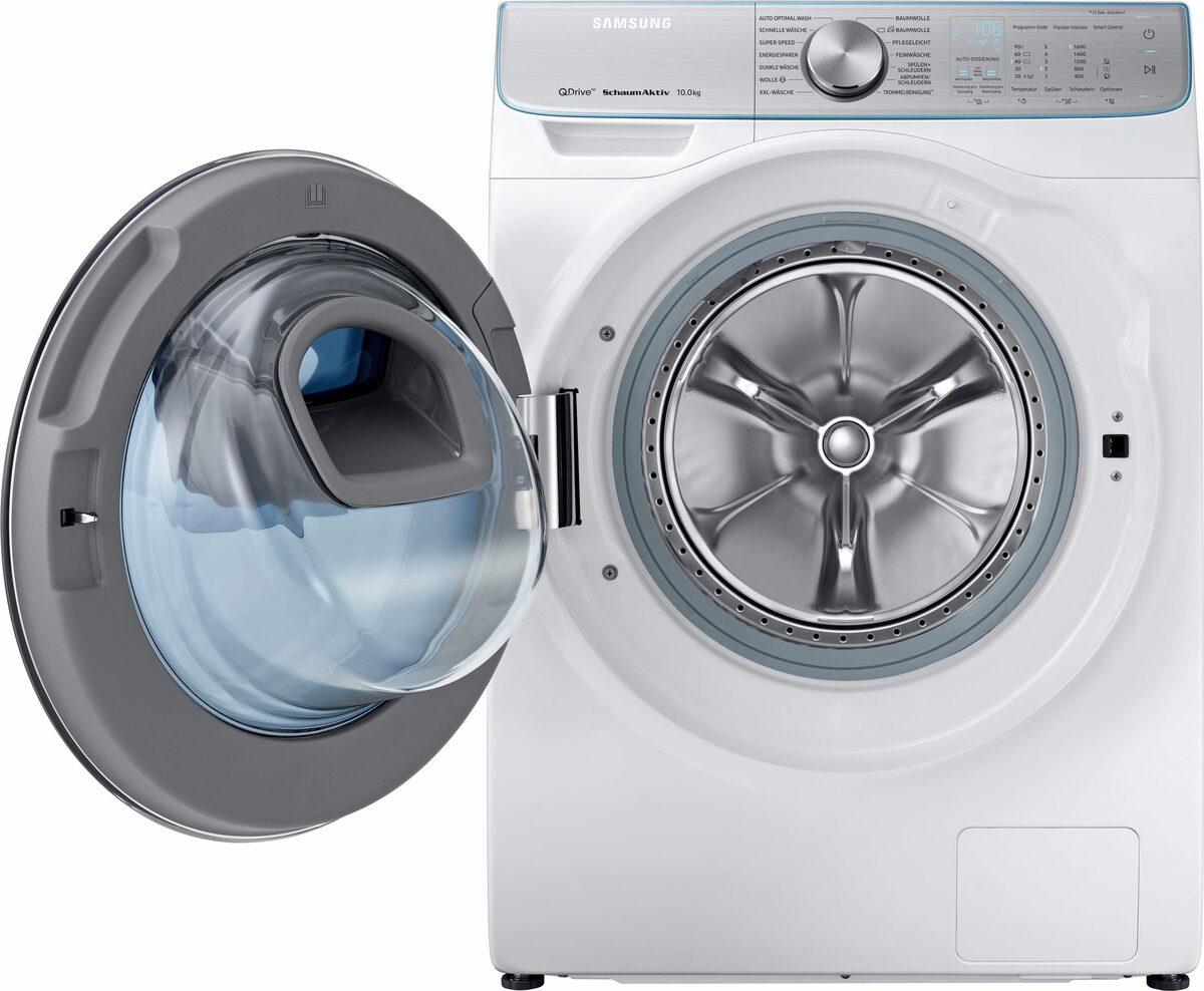Bild 2 von Samsung Waschmaschine QuickDrive AddWash WW8800 WW10M86BQOA, 10 kg, 1600 U/Min, QuickDrive & Automatische Waschmitteldosierung