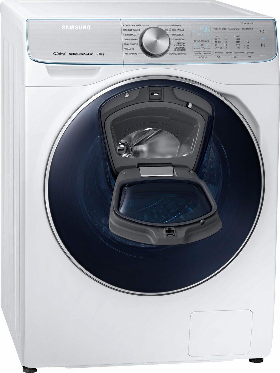 Bild 3 von Samsung Waschmaschine QuickDrive AddWash WW8800 WW10M86BQOA, 10 kg, 1600 U/Min, QuickDrive & Automatische Waschmitteldosierung