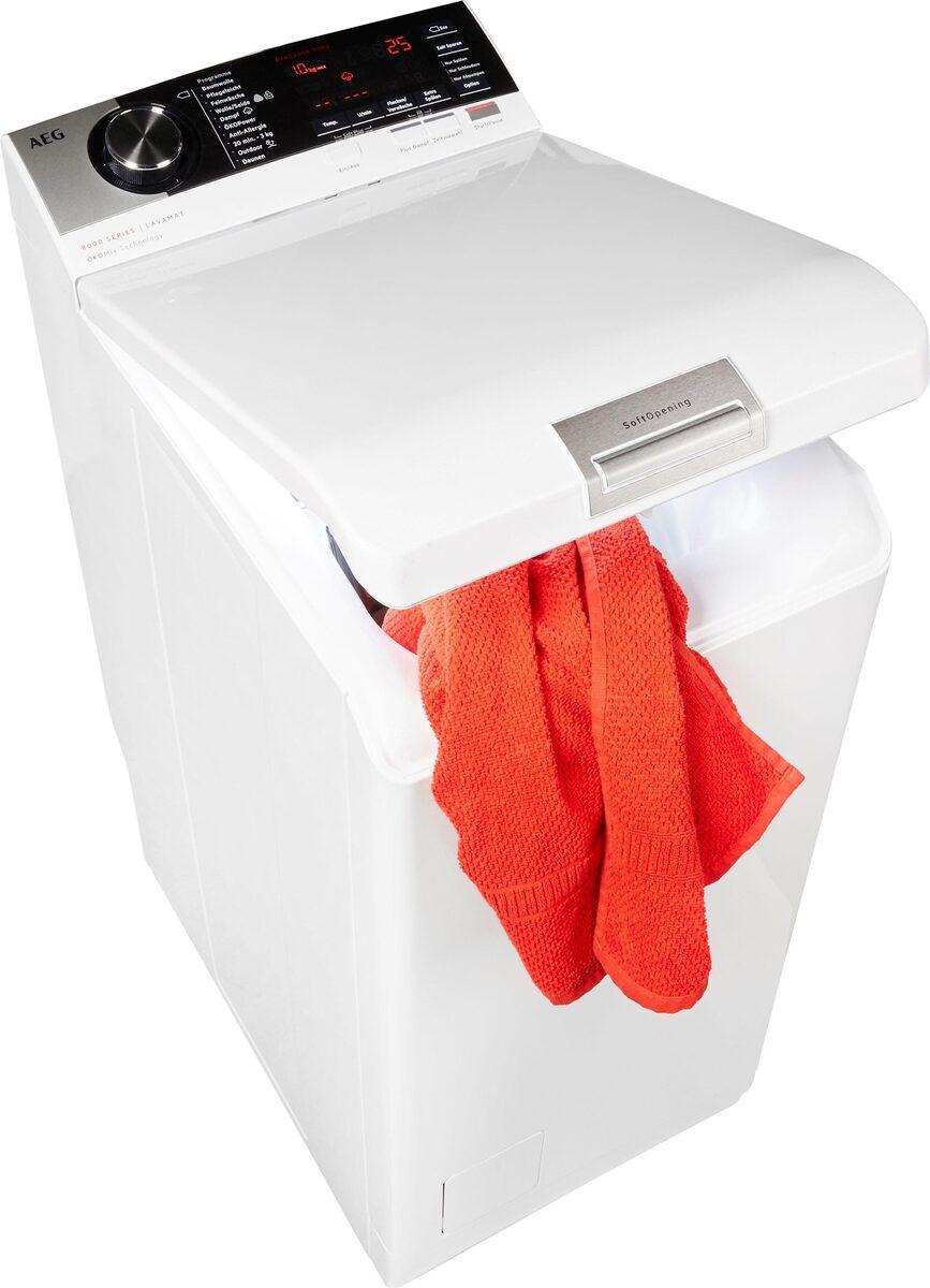 Bild 1 von AEG Waschmaschine Toplader L8TE84565, 6 kg, 1500 U/Min, ÖKOMix - Faserschutz