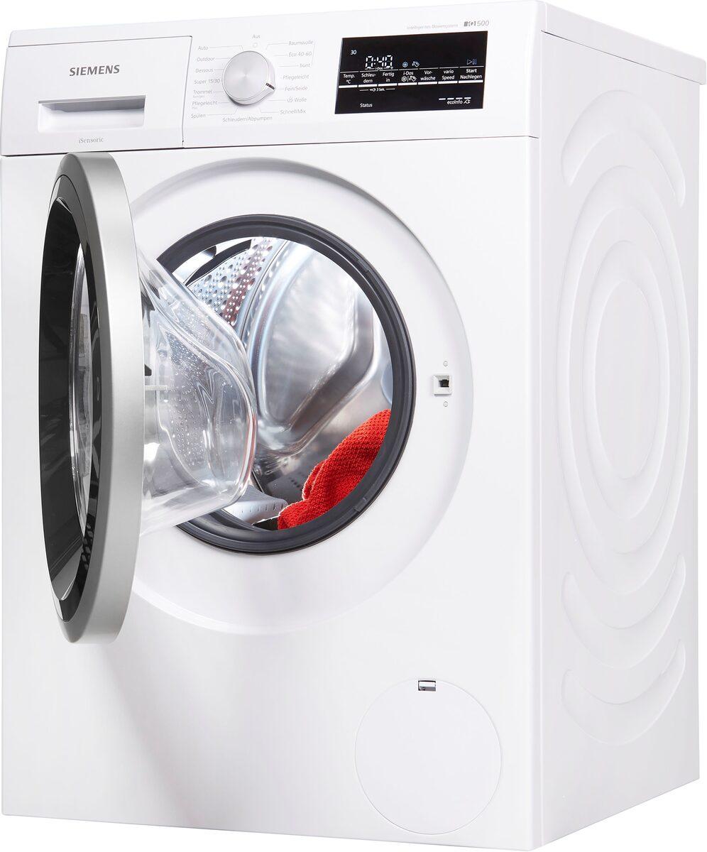 Bild 2 von SIEMENS Waschmaschine iQ500 WM14US70, 9 kg, 1400 U/Min