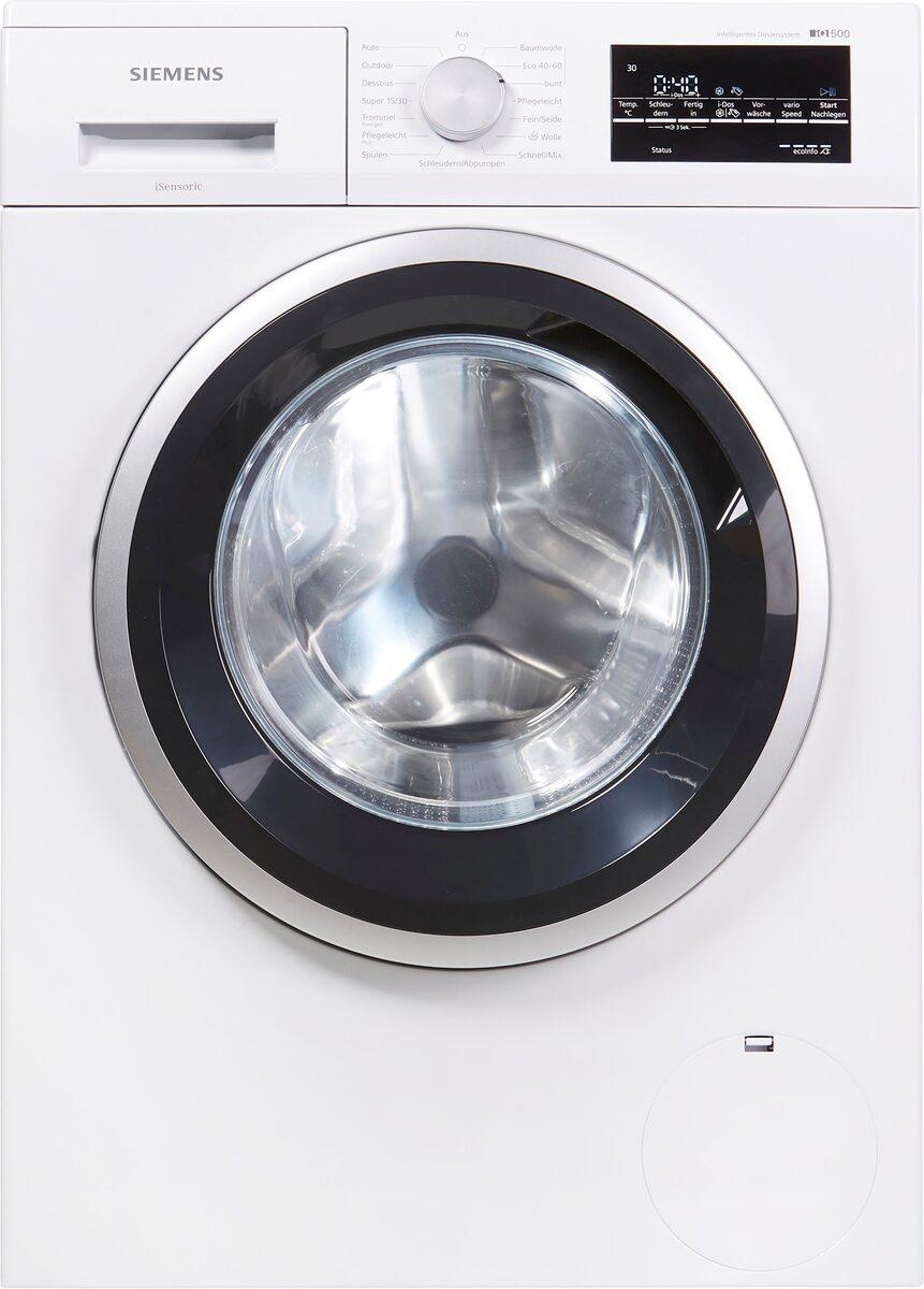 Bild 3 von SIEMENS Waschmaschine iQ500 WM14US70, 9 kg, 1400 U/Min