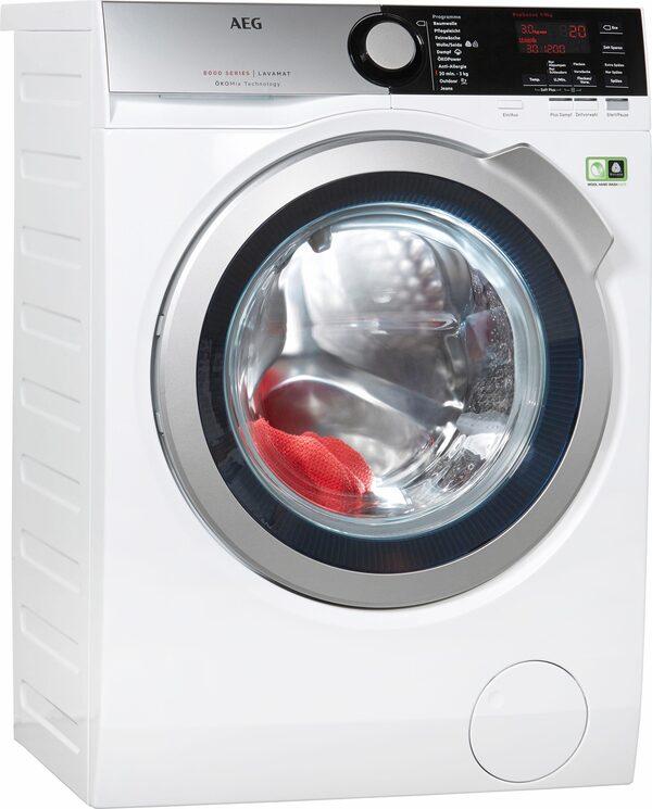 AEG Waschmaschine LAVAMAT L8FE76695, 9 kg, 1600 U/Min, ÖKOMix - Faserschutz
