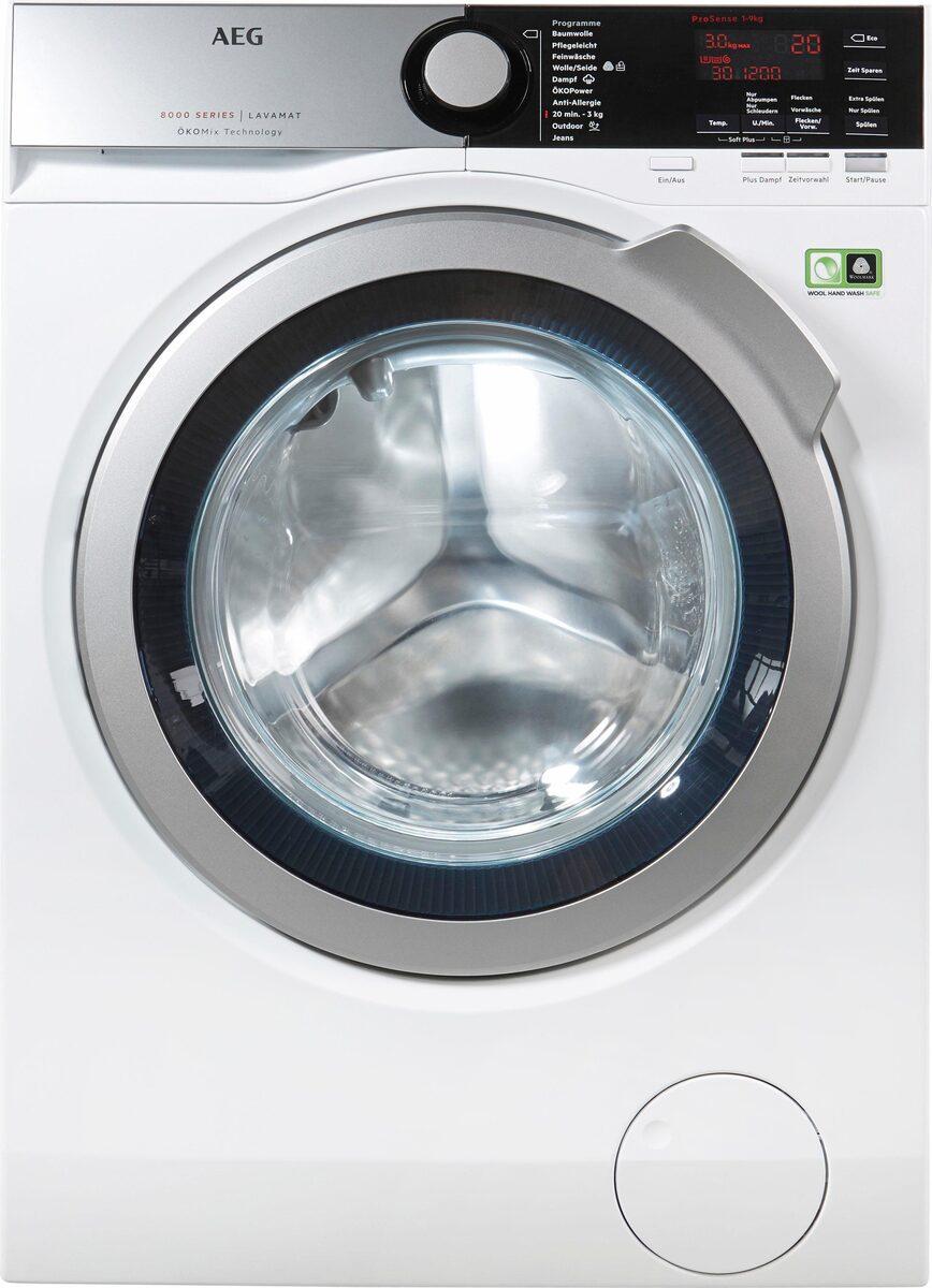 Bild 3 von AEG Waschmaschine LAVAMAT L8FE76695, 9 kg, 1600 U/Min, ÖKOMix - Faserschutz