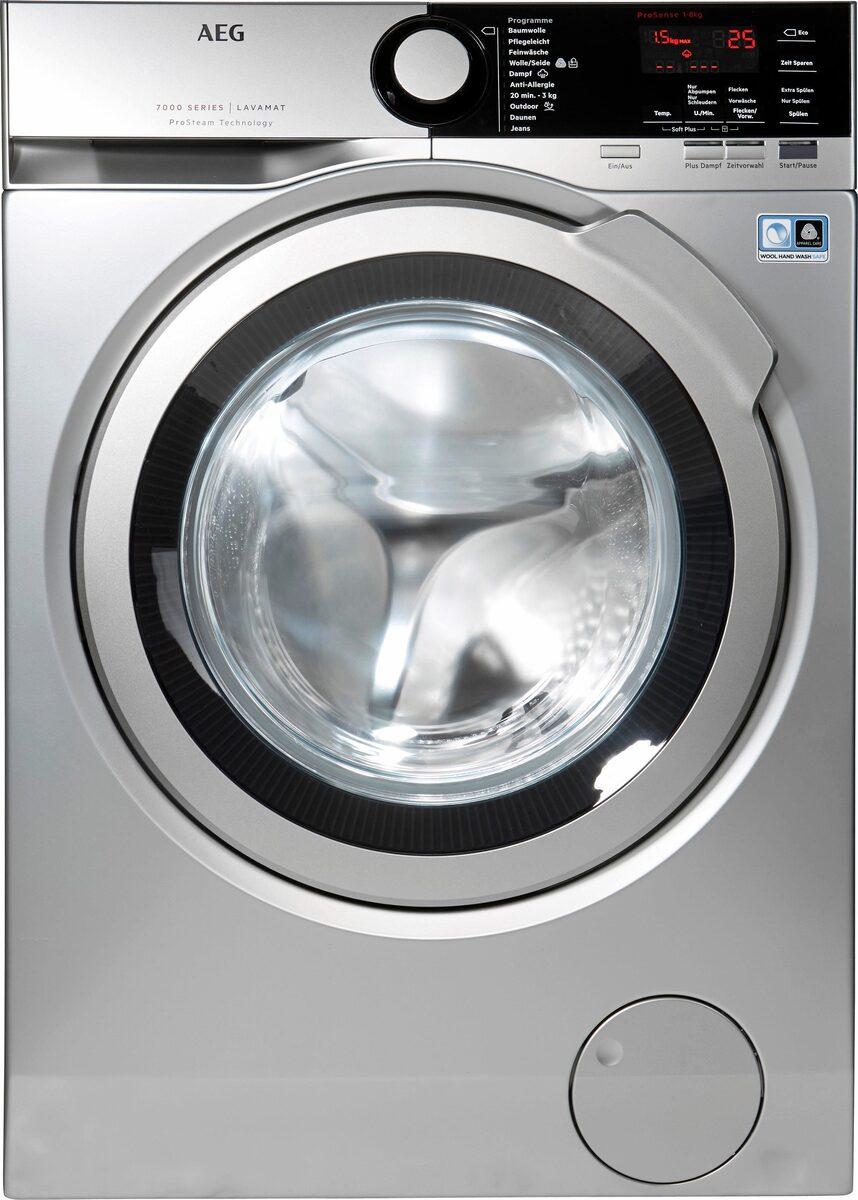 Bild 3 von AEG Waschmaschine LAVAMAT L7FE74485S, 8 kg, 1400 U/Min, ProSteam - Auffrischfunktion