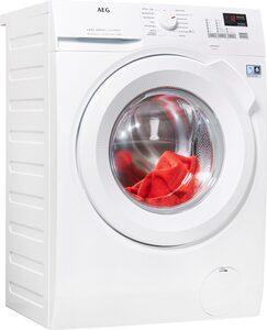 AEG Waschmaschine L6FBA484, 8 kg, 1400 U/Min, ProSense - Mengenautomatik