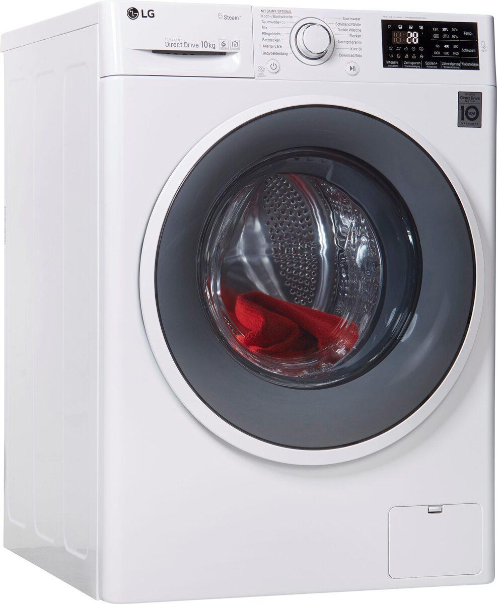 Bild 1 von LG Waschmaschine F14WM10ES0, 10 kg, 1400 U/Min
