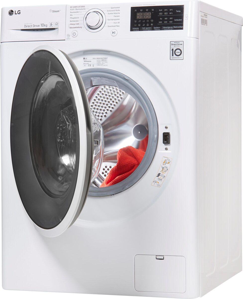 Bild 2 von LG Waschmaschine F14WM10ES0, 10 kg, 1400 U/Min