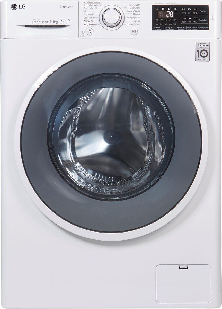 Bild 3 von LG Waschmaschine F14WM10ES0, 10 kg, 1400 U/Min