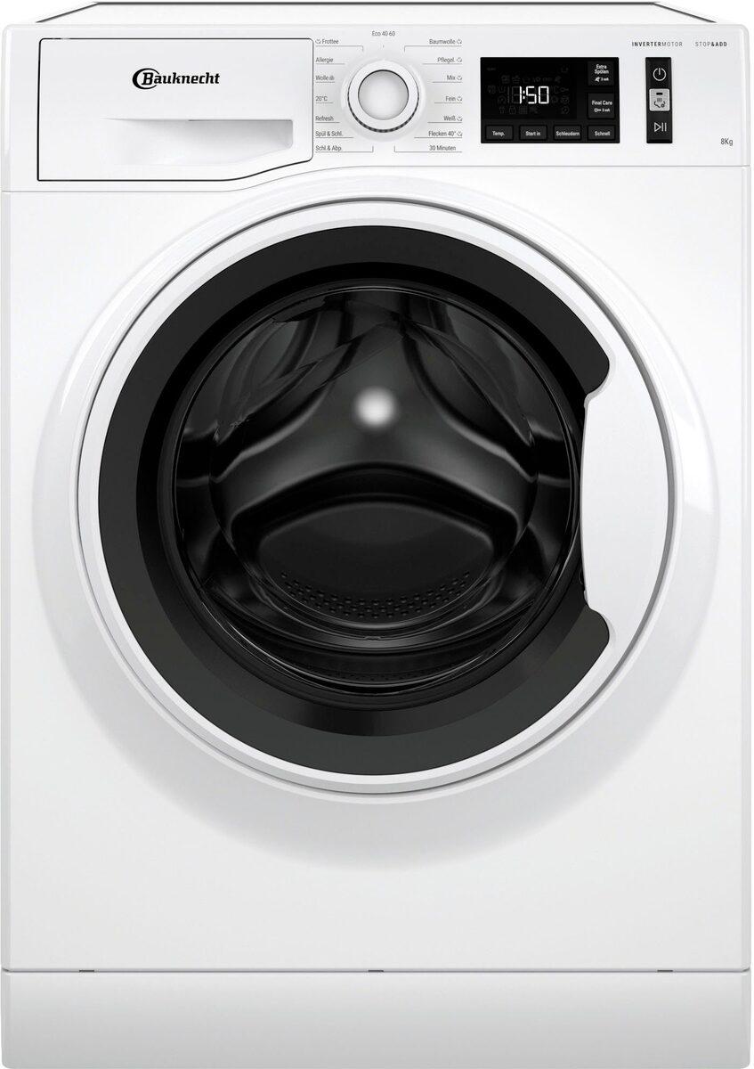 Bild 1 von BAUKNECHT Waschmaschine W Active 811 C, 8 kg, 1400 U/Min