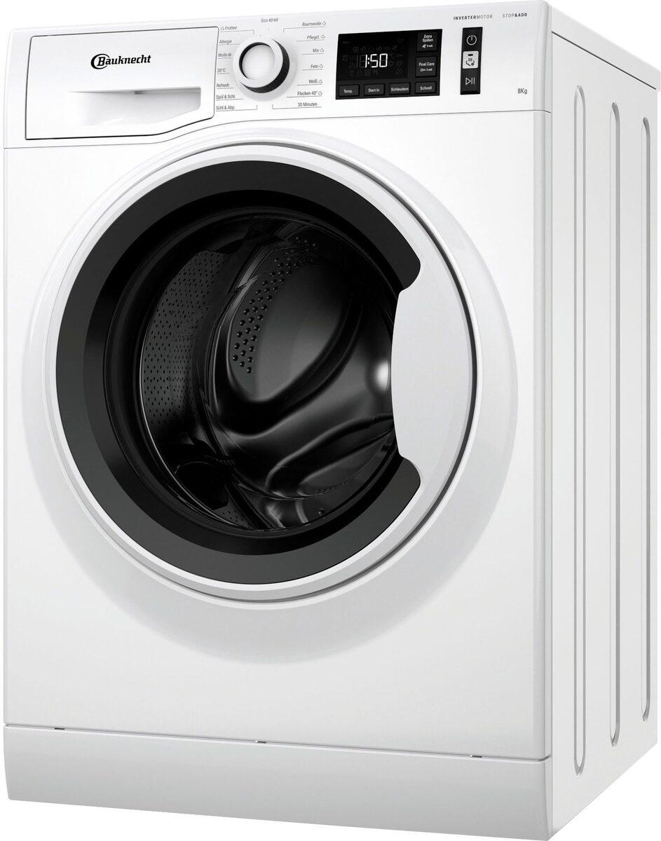 Bild 2 von BAUKNECHT Waschmaschine W Active 811 C, 8 kg, 1400 U/Min
