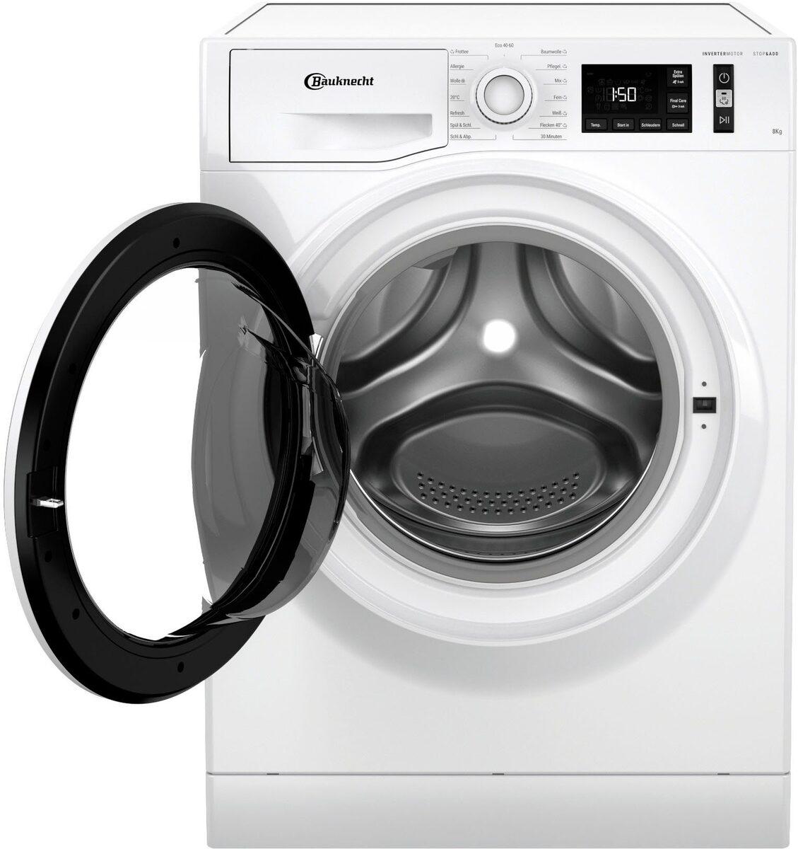 Bild 4 von BAUKNECHT Waschmaschine W Active 811 C, 8 kg, 1400 U/Min