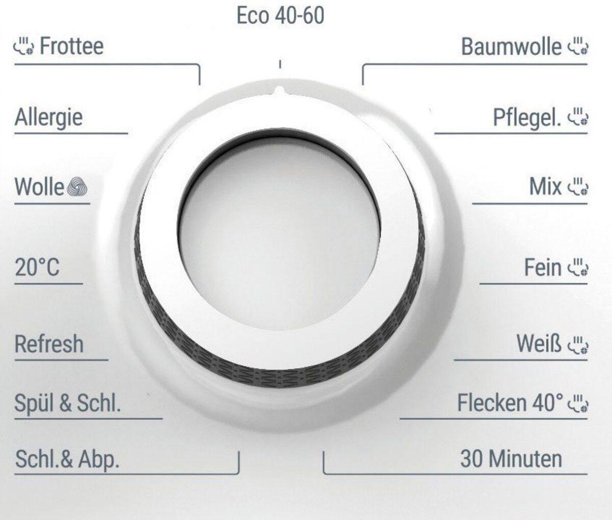 Bild 5 von BAUKNECHT Waschmaschine W Active 811 C, 8 kg, 1400 U/Min