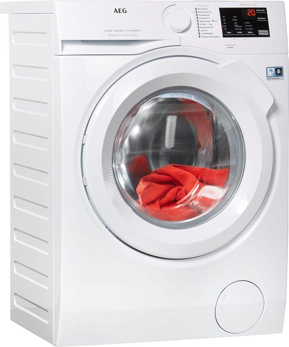 Bild 1 von AEG Waschmaschine LAVAMAT L6FB54470, 7 kg, 1400 U/Min, ProSense - Mengenautomatik