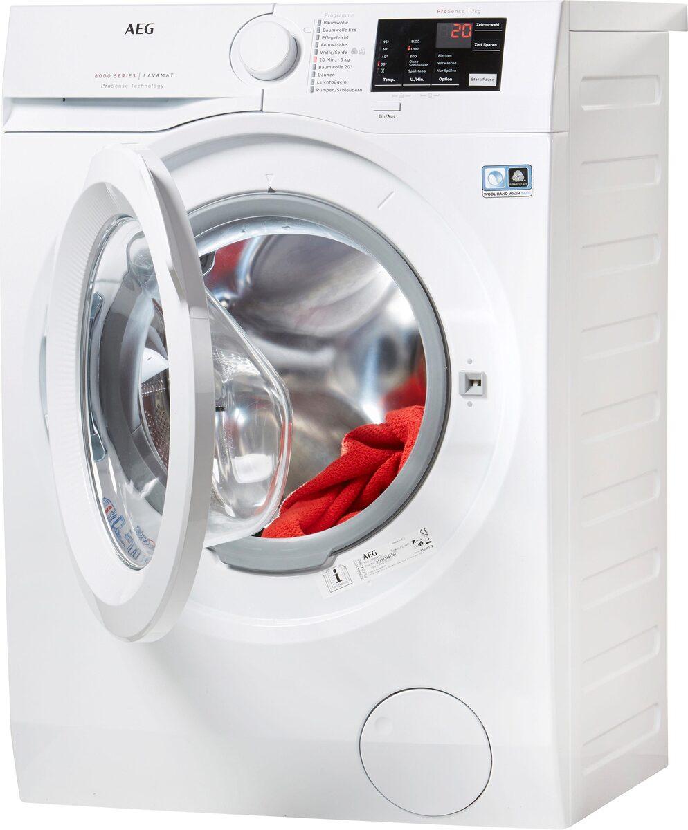 Bild 2 von AEG Waschmaschine LAVAMAT L6FB54470, 7 kg, 1400 U/Min, ProSense - Mengenautomatik