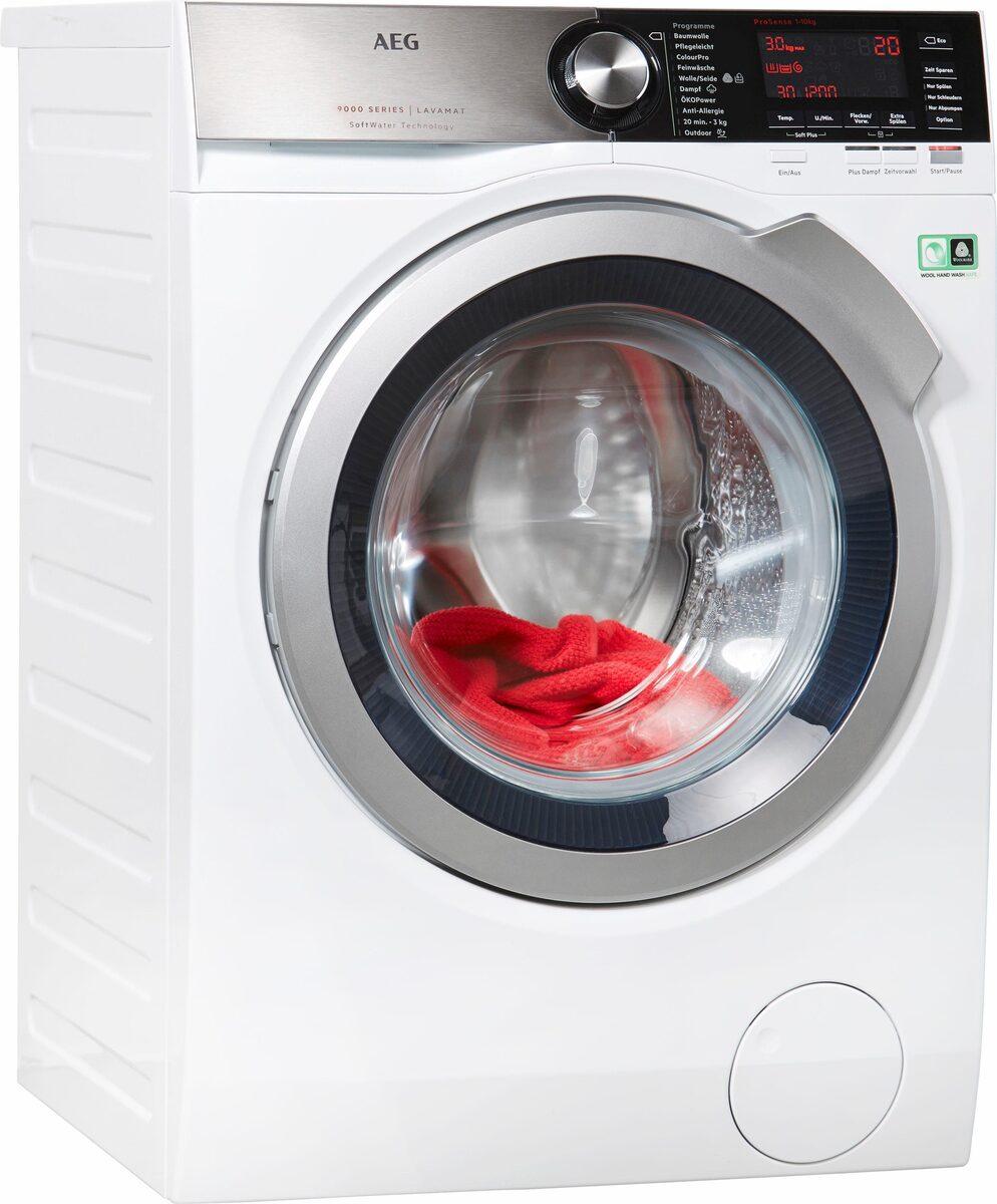 Bild 1 von AEG Waschmaschine LAVAMAT L9FE86495, 9 kg, 1400 U/Min, SoftWater - Wasservorenthärtung
