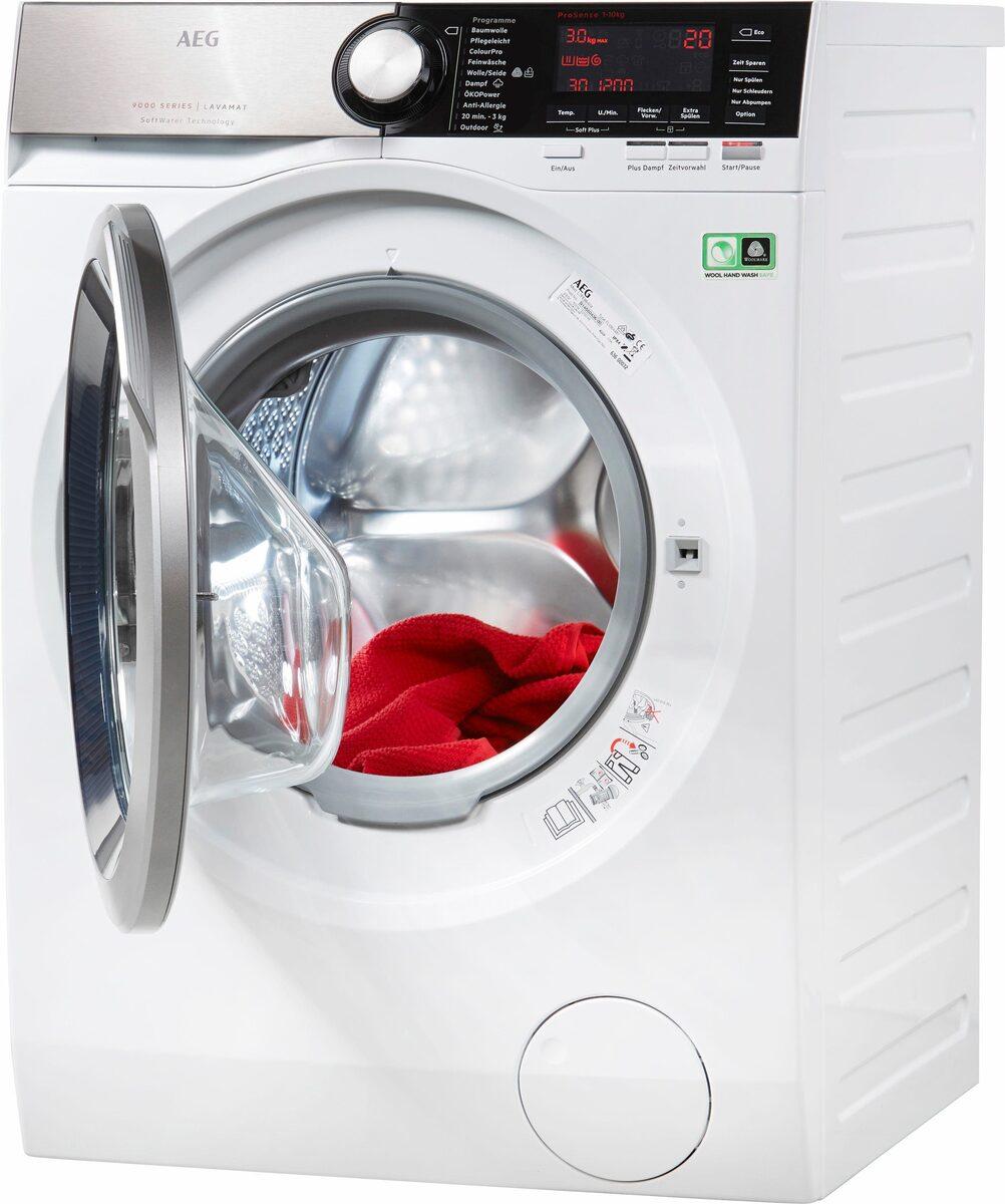 Bild 2 von AEG Waschmaschine LAVAMAT L9FE86495, 9 kg, 1400 U/Min, SoftWater - Wasservorenthärtung