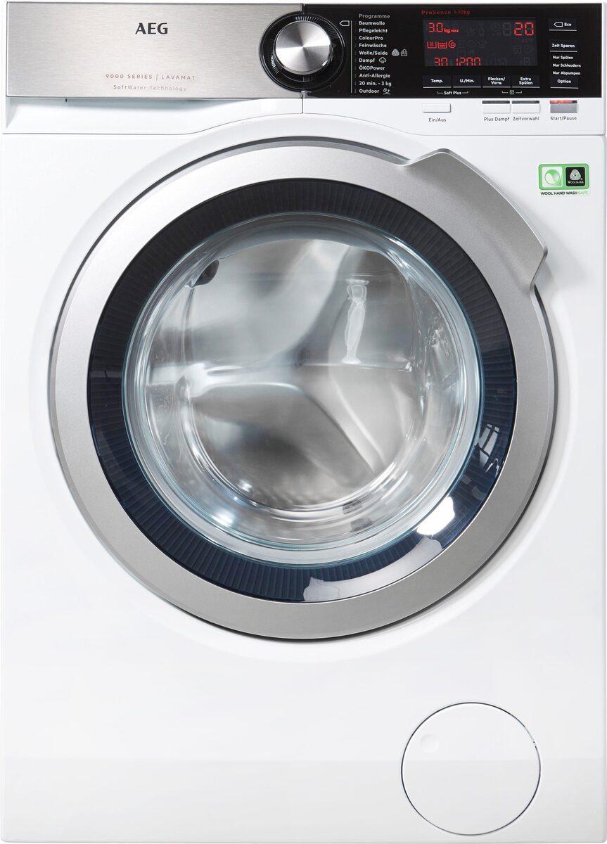 Bild 3 von AEG Waschmaschine LAVAMAT L9FE86495, 9 kg, 1400 U/Min, SoftWater - Wasservorenthärtung