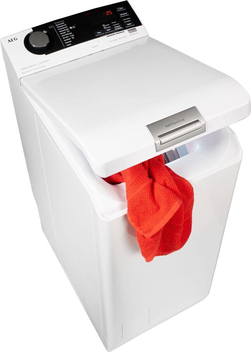 Bild 1 von AEG Waschmaschine Toplader L7TE74275, 7 kg, 1200 U/Min, ProSteam - Auffrischfunktion