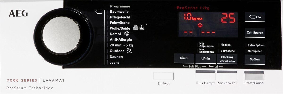 Bild 5 von AEG Waschmaschine Toplader L7TE74275, 7 kg, 1200 U/Min, ProSteam - Auffrischfunktion