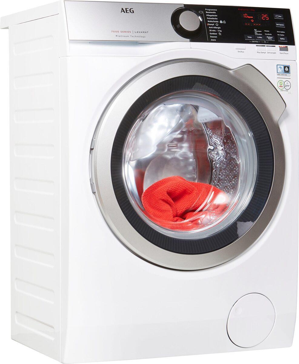 Bild 1 von AEG Waschmaschine L7FE74485, 8 kg, 1400 U/Min, ProSteam - Auffrischfunktion