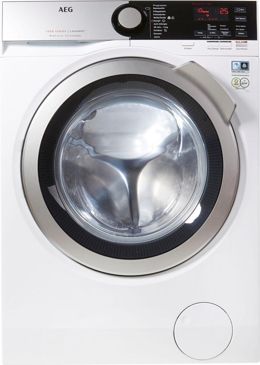 Bild 3 von AEG Waschmaschine L7FE74485, 8 kg, 1400 U/Min, ProSteam - Auffrischfunktion