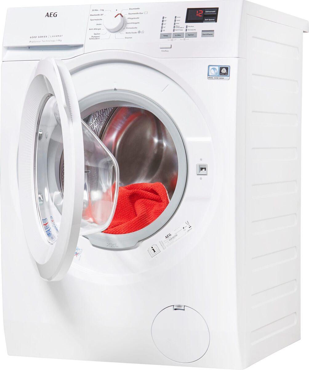 Bild 2 von AEG Waschmaschine L6FBA494, 9 kg, 1400 U/Min, ProSense - Mengenautomatik