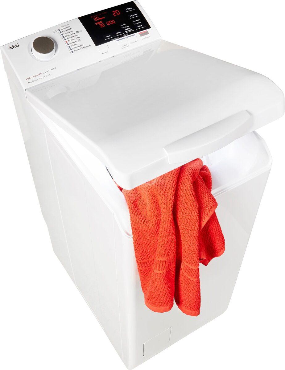 Bild 1 von AEG Waschmaschine Toplader L6TBA664, 6 kg, 1200 U/Min, Nachlegefunktion