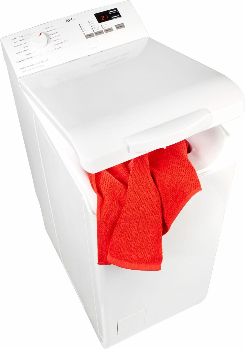 Bild 1 von AEG Waschmaschine Toplader 6000 L6TB41270, 7 kg, 1200 U/Min, Nachlegefunktion