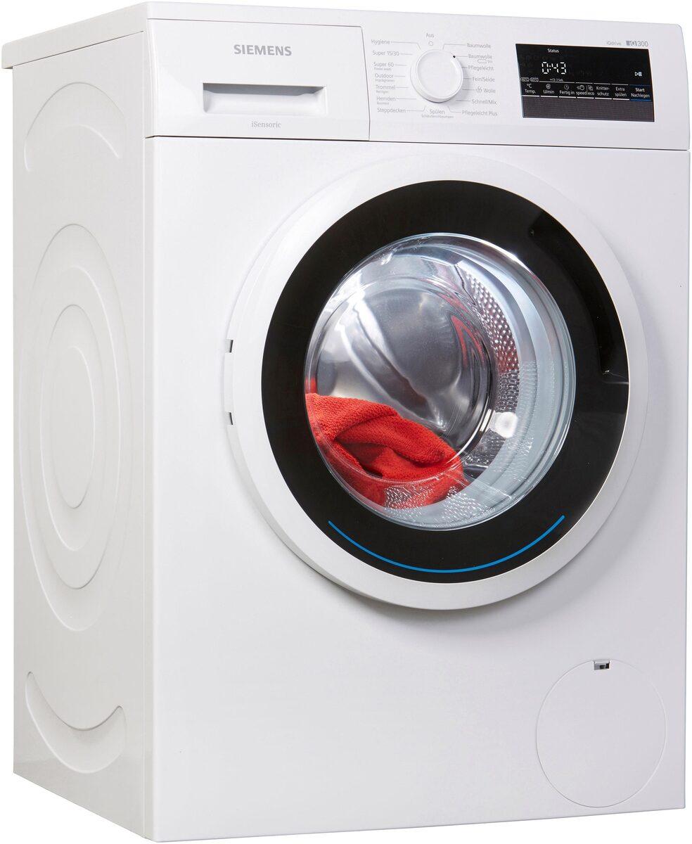 Bild 1 von SIEMENS Waschmaschine iQ300 WM14N2ECO, 7 kg, 1400 U/Min
